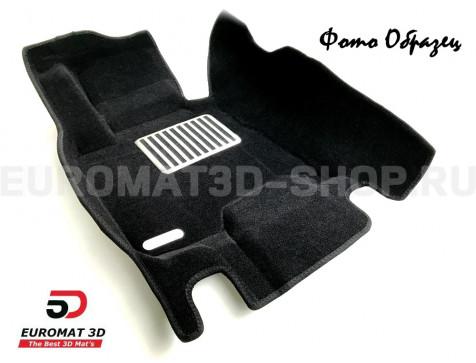 Текстильные 5D коврики с высоким бортом Euromat3D в салон для Bmw 3 (F30) (2010-2018) № EM5D-001202