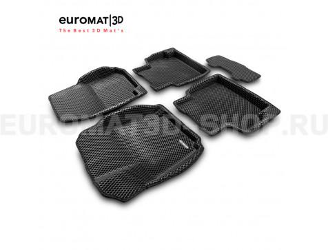 3D коврики Euromat3D EVA в салон для Ford Mondeo (2007-2014) № EM3DEVA-002211